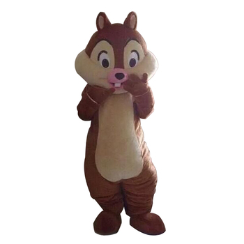 2017 Chip E Dale Chipmunk Adult Mascot Costume Fancy Outfit Cartoon Character Party Dress