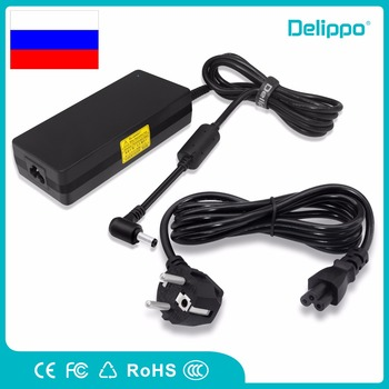 Delippo 19V 6.32A 120W AC Laptop Charger For Asus N53S N55 FX50J N56V N500 N53S N550 C90S G50 Power Supply Cord Charger