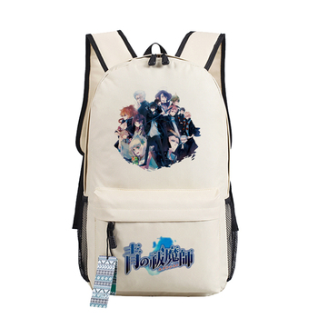 Anime Blue Exorcist Ao No Exorcist Cosplay Bag Okumura Rin Schoolbags Backpack Unsiex Students Travel Bags
