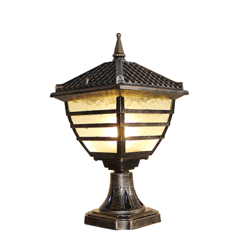 Chinese style Large landscape Lamp outdoor lighting yard Garden Lamp novelty pavilion Waterproof Outdoor Wall Lamp LED Arandela