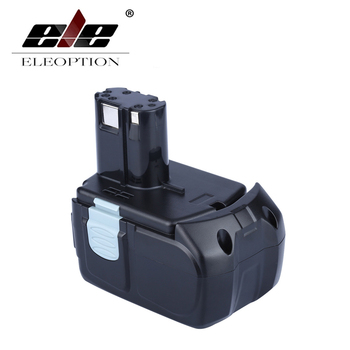 ELEOPTION High Capacity 18V 5000mAh Li-ion for HITACHI Rechargeable Power Tool Battery BCL1815 BCL1830 EBM1830 327730